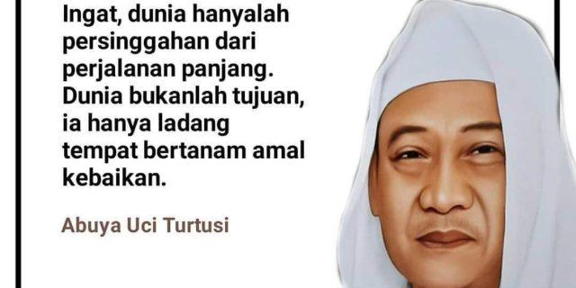 Guru Besar Cilongok Pasarkemis Tangerang Abuya KH. Uci Turtusi Tutup Usia