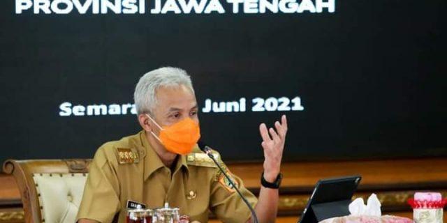 Gubernur Jateng Melarang PTM di Zona Merah