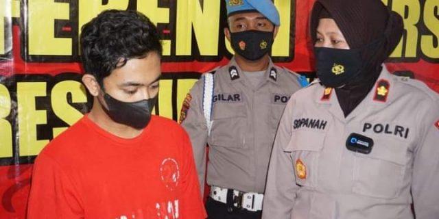 Satresnarkoba Polres Purbalingga Berhasil Mengamankan Tersangka Pengedar Obat Terlarang Jenis Hexymer Dan Tramadol