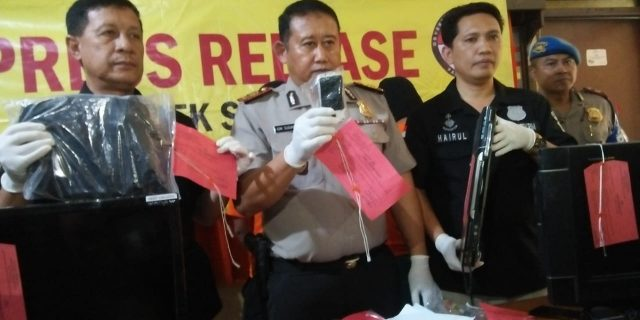 Tindak Pidana CURAS Yang Terjadi Dikampung Grudug  Berhasil Diungkap Polsek Sepatan