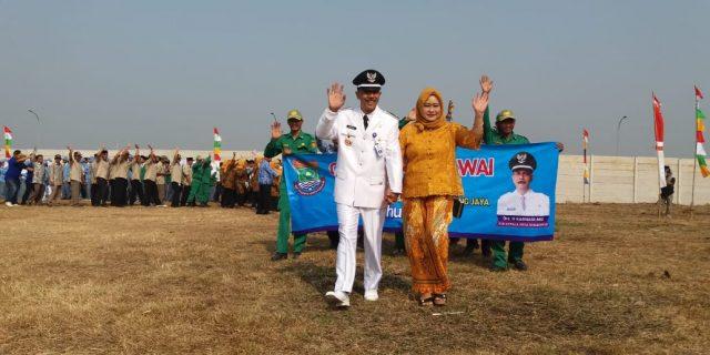 Pj. Desa Sukaharja Apresiasi Perayaan Hut RI Ke 73 di Kecamatan Sindang Jaya
