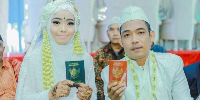 Prosesi Pernikahan Eka Syamsul Fahri Dengan Siska Riani Berlangsung Meriah