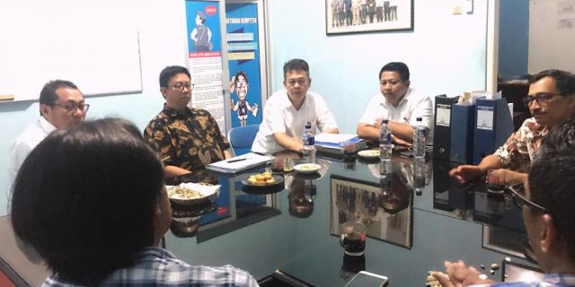 Ketua Dewan Pers Kunjungi Kantor SMSI Provinsi Banten