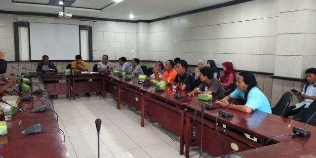 Ketua Komisi IV DPRD Kota Tangerang Tampung Aspirasi Organisasi Angkutan Daerah