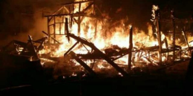 Tragis Pondok Pesantren Riyadul Janah Ludes Terbakar