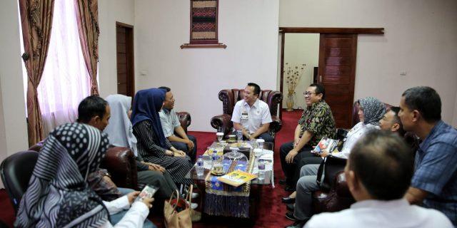 Safari Digital Serikat Media Siber Indonesia Ajak Pemprov Lampung Bersinergi