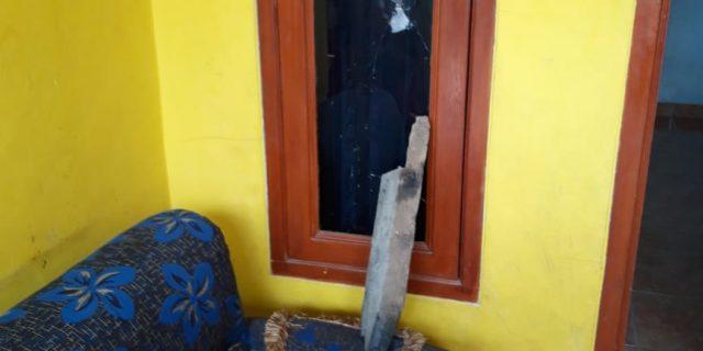 Pasca Pernyataan Kapolresta Tangerang Debt Collector Rusak Rumah Nasabah