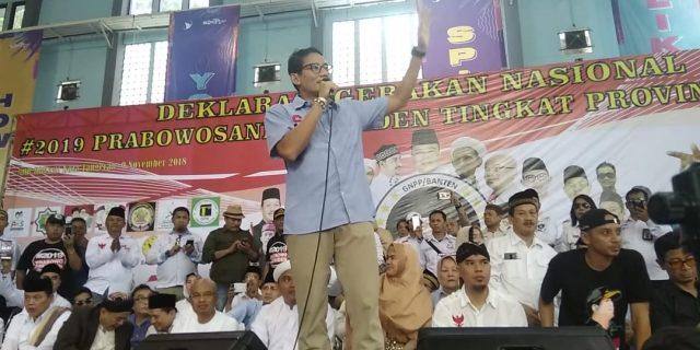 Kehadiran Cawapres No Urut 2 Padati Gor Kota Tangerang