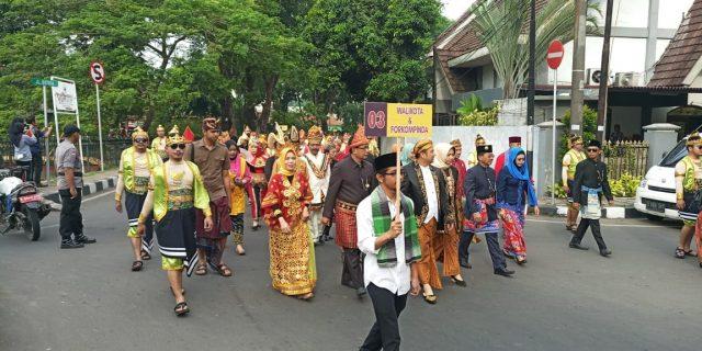 Gebyar Festival Nusantara Dilapangan Ahmad Yani Kota Tangerang
