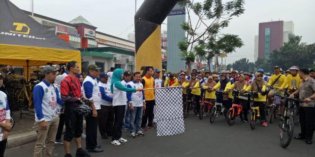 Dandim 0506 Tangerang Ikuti Fun Bike HUT Kota Tangerang Selatan