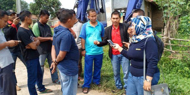 Proyek Pelebaran Jalan Di Desa Taban Di Duga Bermasalah