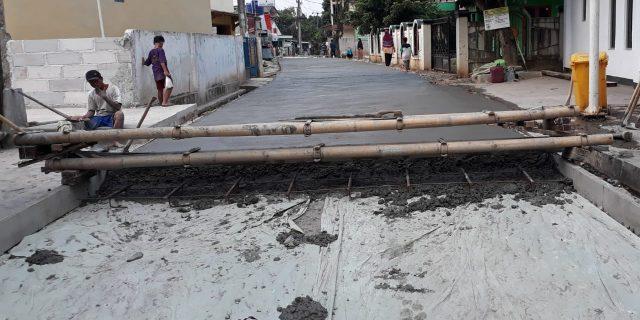 Proyek Jalan Pasir Bolang Diduga Tidak Sesuai RAB