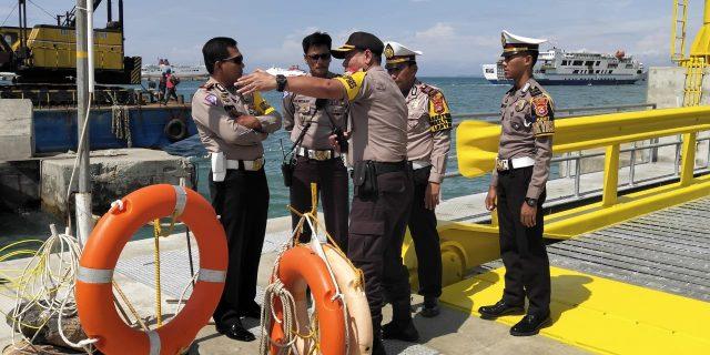 Jelang Libur Panjang Polda Banten Tinjau Pelabuhan Merak Dan Titik Rawan Macet Disekitar Julur Wisata