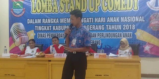 Hari Anak Nasional Di Kabupaten Tangerang Dimeriahkan Perlombaan
