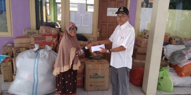 Warga Sukatani, Peduli Korban Bencana Alam Tsunami Selat Sunda Banten