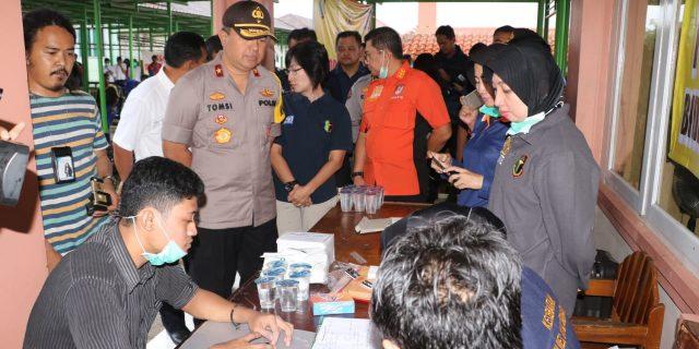 Kapolda Banten, Kunjungi DVI untuk Melihat Proses Identifikasi Korban Tsunami di RSUD Pandeglang