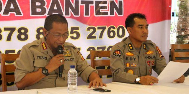 Humas Polri Laksanakan Press Compress Terkait Tsunami Banten