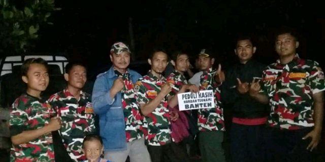 Markas Cabang LMPI Kab. Tangerang Sumbang Logistik Ke Bencana Tsunami Selat Sunda