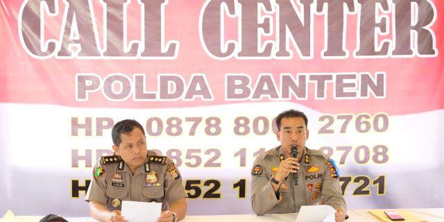 Humas Polri Laksanakan Press Conference Hari ke 5 Pasca Tsunami