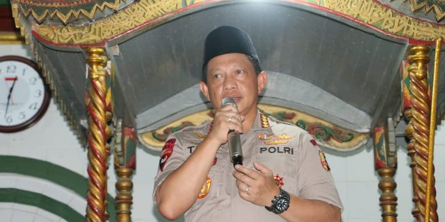 Kapolri Pimpin Doa Bersama, Untuk Korban Tsunami Selat Sunda