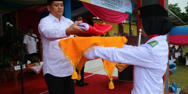 Wakil Bupati Tanggamus Jadi Inspektur Upacara Hari Amal Bakti Ke 73