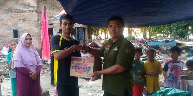 Mahasiswa Fakultas Hukum Unpam Dan Rescue Blukar Indonesia Kembali Distribusikan Bantuan