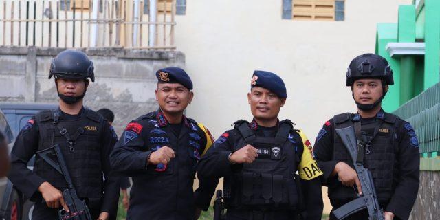Polda Banten, Lakukan Pengamanan Kunjungan Cawapres Urut 02