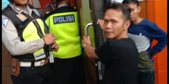 Pelaku Pembobol Mesin ATM Terciduk Anggota Satlantas Polres Serang Kota Saat Sedang Patroli