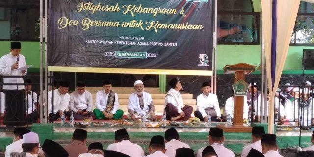 Dir Binmas Polda Banten Hadiri Acara Istighosah Kebangsaan dan Doa Bersama