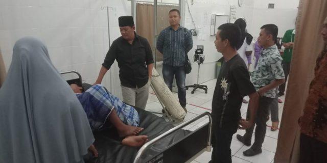 Wakil Bupati Tanggamus Sidak Ke RSUD Bathin Dimalam Hari