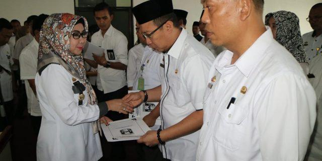 Bupati KembaliLantik Pejabat Dilingkup Pemkab Tanggamus