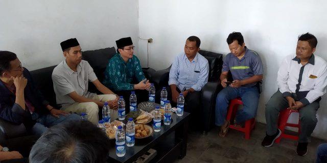 Anggota Baru Komisioner KPU Kota Tangerang Sambangi PWI Kota Tangerang