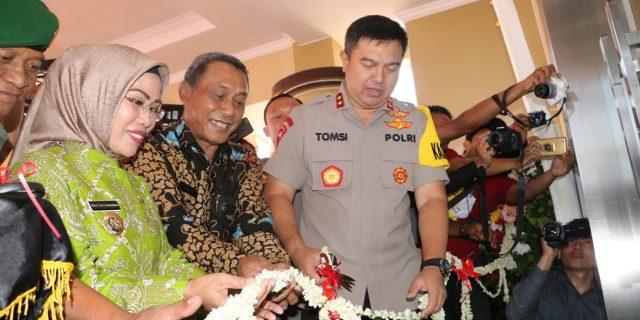 Kapolda Banten Resmikan Gedung Baru Polres Serang : Tingkatkan Semangat Baru Melayani Masyarakat