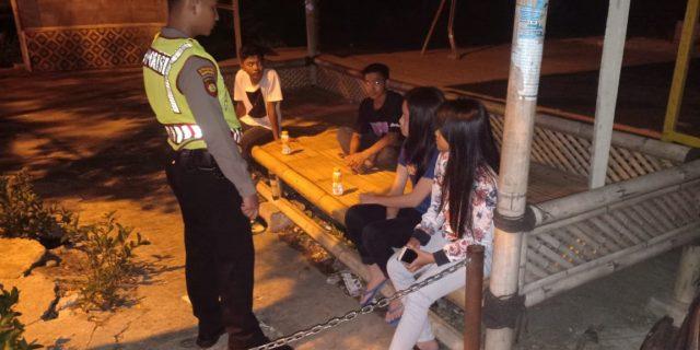 Cegah Penyakit Masyarakat Ditsamapta Polda Banten Gelar Patroli