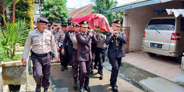 Polda Banten Turut Belasungkawa Atas Wafatnya AKP JONI Bin Slamet