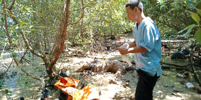 Polisi Selidiki Penemuan Mayat Tanpa Identitas di kelurahan Banten