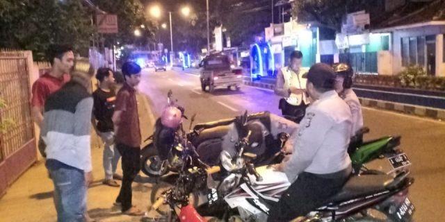 Razia Balap Liar, Polres Lebak Amankan 40 Unit Kendaraan Bermotor