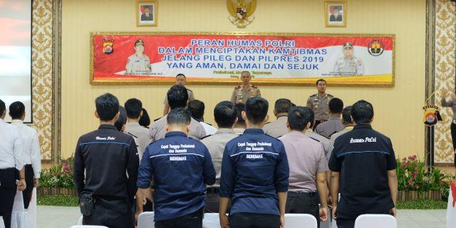 Polda Banten Laksanakan Kegiatan Pelatihan Menajemen Media Polri