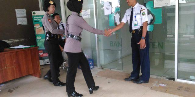 Dit Samapta Polda Banten, Lakukan Patroli Dialogis di RSUD Banten