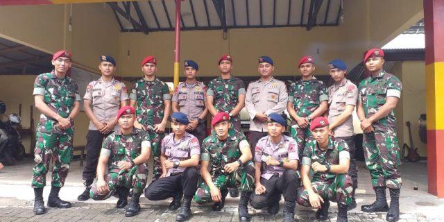 Brimob Polda Banten dan Kopassus Gelar Latihan Bersama