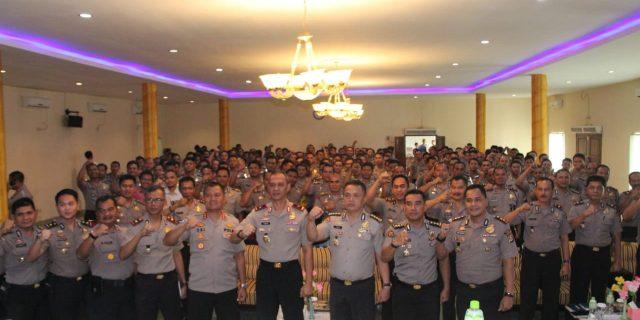 149 Bhabinkamtibmas Polsek Jajaran Polres Lebak, Mendapatkan Pelatihan Kehumasan