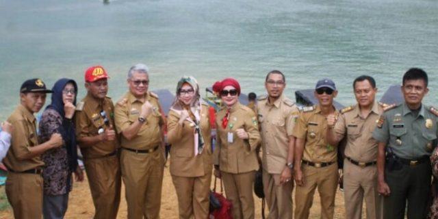 Bupati Tanggamus Resmikan Wana Wisata Tanjung Harapan Batutegi