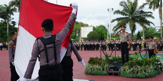 Wakapolda Banten Pimpin Upacara Hari Kesadaran Nasional