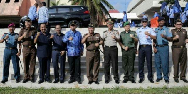 Kepala Kejaksaan Tinggi Lampung Pimpin Upacara Bulanan Forkompimda