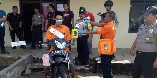 Tersangka Pembunuhan IRT di Pantai Tulung Beliung Perankan 20 Adegan