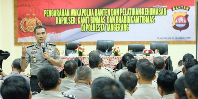 Kabid Humas Polda Banten Sampaikan Tingkatkan Publick Trust dikalangan Masyarakat