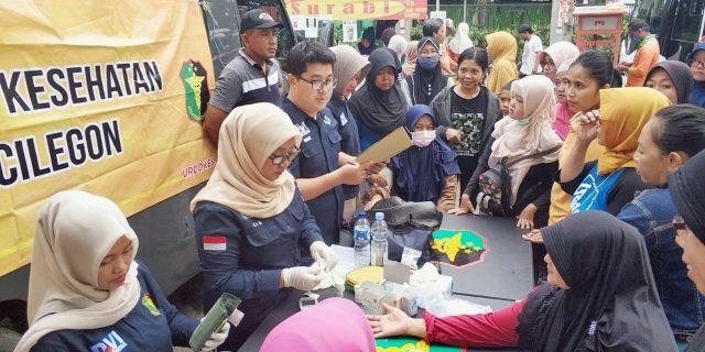 Biddokkes Polda Banten Berikan Pelayanan Kesehatan Gratis