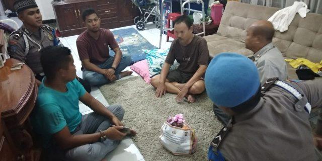 Bidpropam Polda Banten Beri Perhatian Kepada Anggota yang Sedang Sakit
