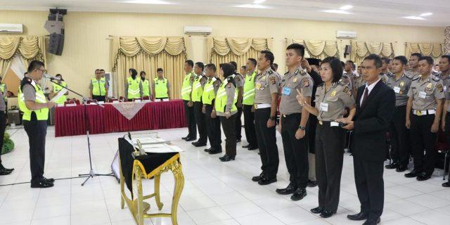 Kapolda Banten Pimpin Penandatanganan Pakta Integritas Seleksi Pendidikan Polri