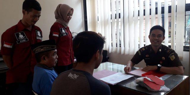 Polsek Pulau Pagung Polres Tanggamus Serahkan  2 Berkas Tindak Pidana kekejaksaan